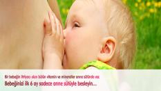 Bebeklerde Beslenmenin İlk Adımı Emzirme