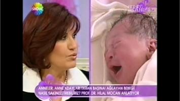 Ağlayan Bebekleri Sakinleştirme Yöntemi
