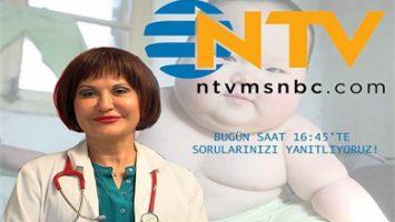 NTV'de Çocuklarda Obezite Konusunu Tartışıyoruz